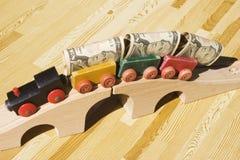 Geldlastwagen Lizenzfreie Stockbilder
