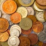 Geldmünzen lizenzfreie stockfotografie
