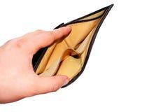 Geldmangel Lizenzfreie Stockbilder