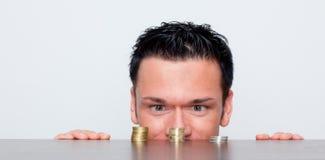 Geldmengenwachstum Lizenzfreies Stockfoto