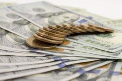 Geldmuntstukken Stock Fotografie