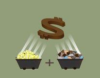 Geldproject Stock Afbeeldingen