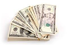 Geldrijkdom Royalty-vrije Stock Afbeeldingen