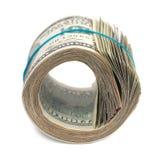 Geldrolle Lizenzfreies Stockfoto
