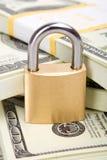 Geldsicherheit stockbild
