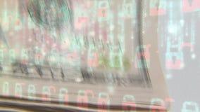 Geldsicherheit stock footage