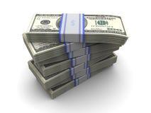 Geldstapel Lizenzfreies Stockbild