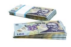 Geldstapel Stockfoto
