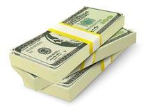 Geldstapel-Banknotenkonzept lizenzfreie abbildung