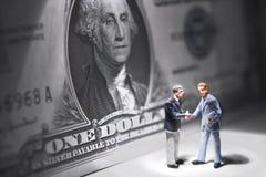 Geldstoffe Stockbild