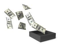 Geldstroom Royalty-vrije Stock Foto