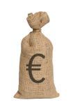 Geldtasche vom Euro Lizenzfreie Stockfotografie