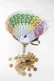 Geldtrichter Lizenzfreies Stockbild