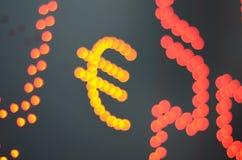 Geldumtausch-Rate Lizenzfreies Stockbild
