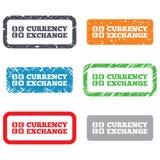 Geldumtauschzeichenikone. Währungsumrechner Lizenzfreies Stockbild
