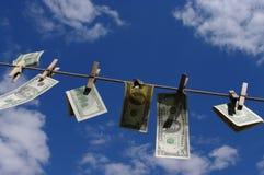 Geldwäsche Stockfotos