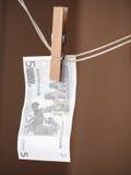 Geldwäsche lizenzfreie stockfotografie