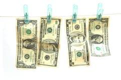 Geldwäsche Lizenzfreies Stockfoto