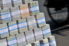 Geldwechsel-Dienstleistungen stockbild