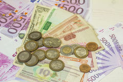 Geldwereld Stock Fotografie
