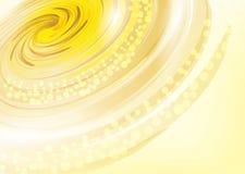 Gele abstracte achtergrond Stock Afbeelding