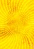 Gele abstracte achtergrond met lijnen Royalty-vrije Stock Foto
