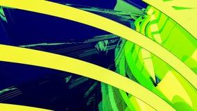 Gele abstracte illustratie als achtergrond Royalty-vrije Stock Afbeelding