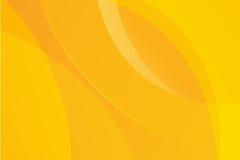 Gele abstracte vector als achtergrond Royalty-vrije Stock Afbeeldingen