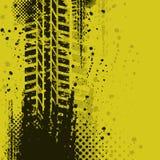 Gele achtergrond vector illustratie