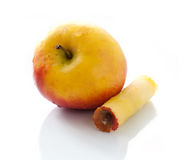 Gele appel Stock Foto