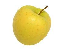 Gele appel Royalty-vrije Stock Afbeeldingen