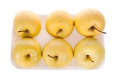 Gele appelen Stock Foto