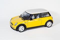 Gele auto Stock Afbeelding