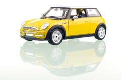 Gele Auto royalty-vrije stock foto's