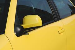 Gele Auto royalty-vrije stock foto