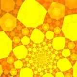 Gele backgound Stock Afbeeldingen