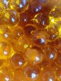 Gele ballen Royalty-vrije Stock Afbeeldingen
