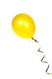 Gele ballon Royalty-vrije Stock Foto's