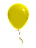 Gele ballon Royalty-vrije Stock Afbeelding