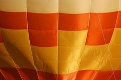 Gele ballonachtergrond Stock Fotografie