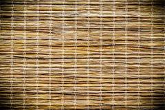 gele bamboetextuur Royalty-vrije Stock Afbeelding