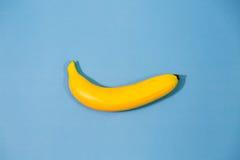 Gele banaan Royalty-vrije Stock Afbeeldingen