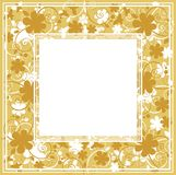 Gele bloemenachtergrond Stock Afbeeldingen