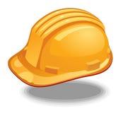 Gele bouwvakker Stock Afbeeldingen
