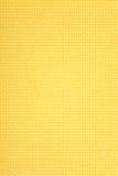 Gele canvasachtergrond Stock Afbeeldingen