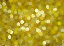 Gele cirkels abstracte achtergrond Vector Illustratie