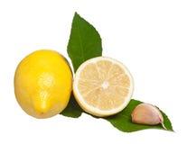Gele citroen Stock Foto