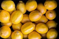Gele citroenen Royalty-vrije Stock Foto