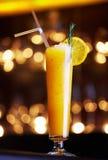 Gele cocktail Royalty-vrije Stock Foto's