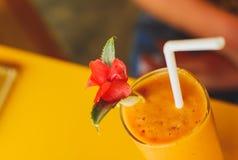 Gele cocktail Stock Foto